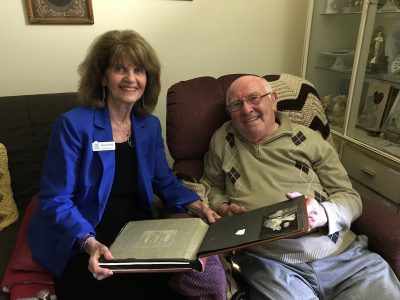 Sandy and Mr Engel, Homecare in Maryland