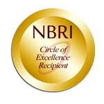 NBRI Circle of Excellence Recipient